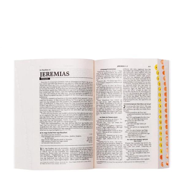 Baraan nga Biblia (Missionary edition Thumb Index)-92