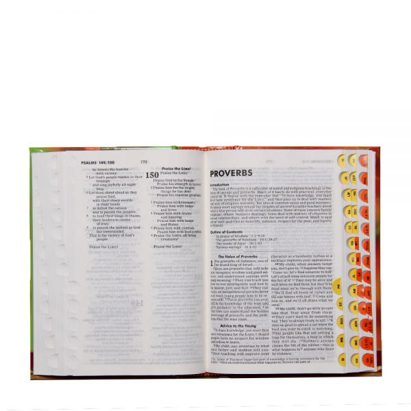 Good News Translation-Youth Bible with Thumb Index-87