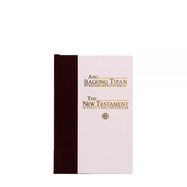 Ang Bagong Tipan/Good News New Testament (Catholic Maroon/white)-0