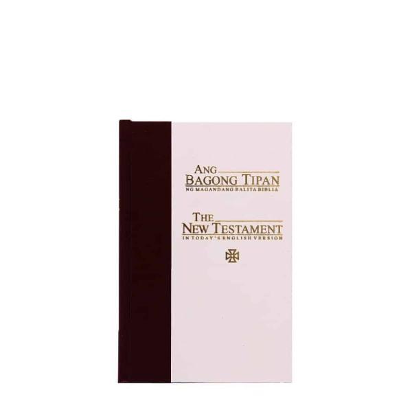 Ang Bagong Tipan/Good News Testament (Catholic Maroon/white Thumb Index)-0