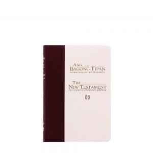 Ang Bagong Tipan/Good News Testament (Catholic blue/white Gold)-0