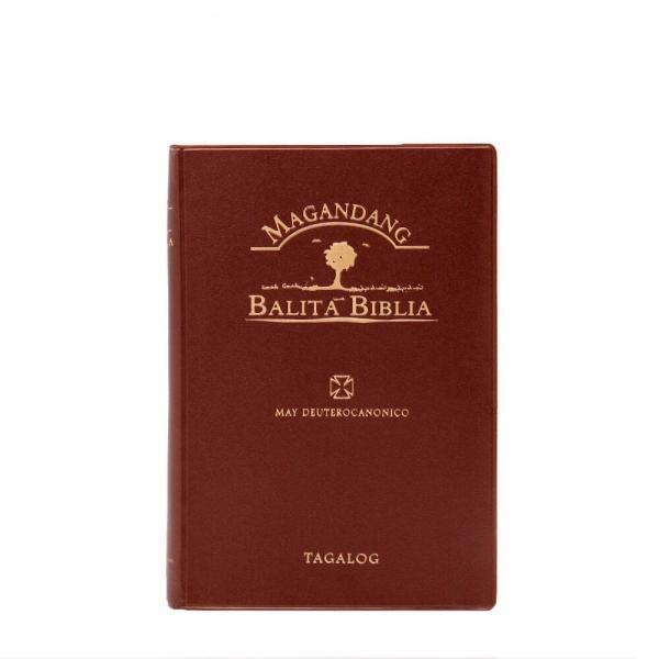 Magandang Balita Biblia, compact size, vinyl cover-0